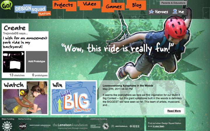 Design Squad Website >> Melissa Carlson Media Web